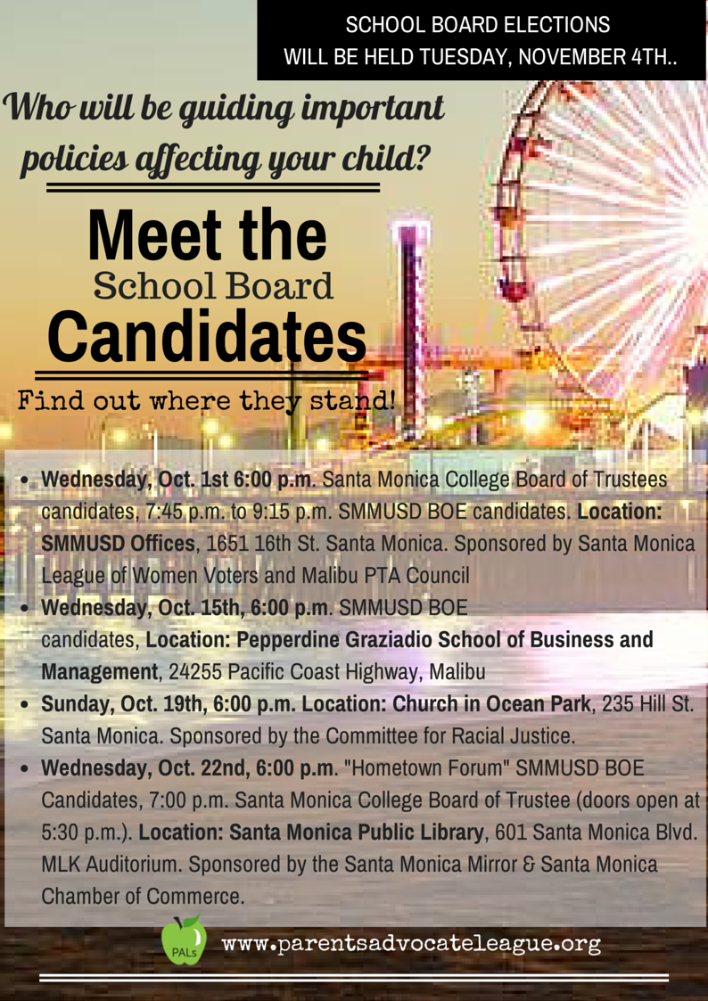 Meet the Candidates (5)